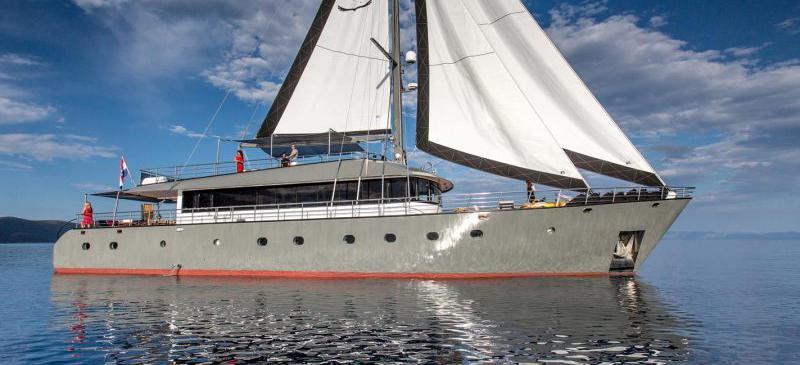 motor sailer Rara Avis