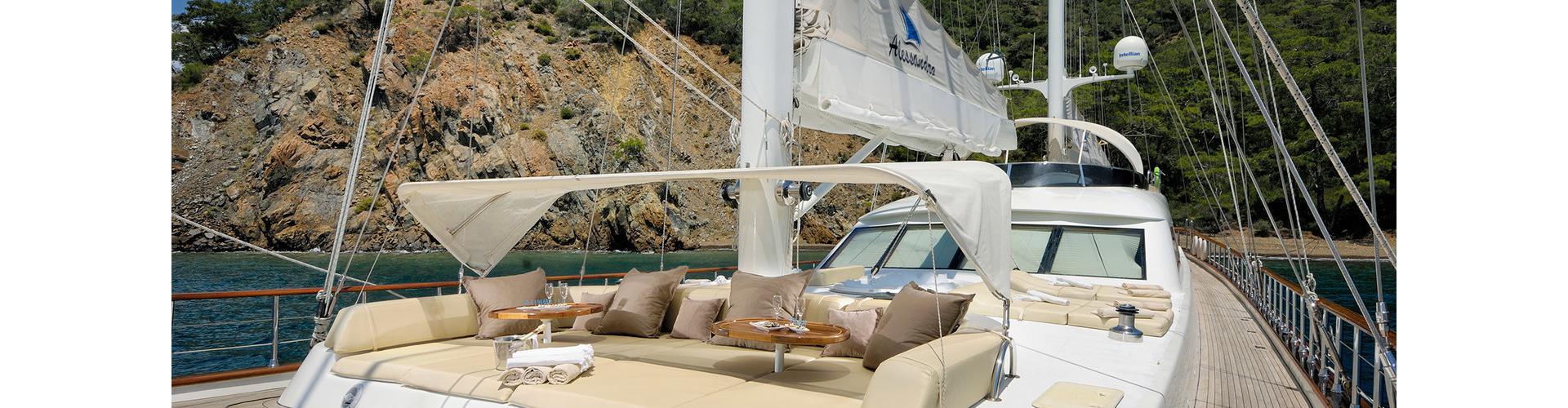 motor sailer Alessandro