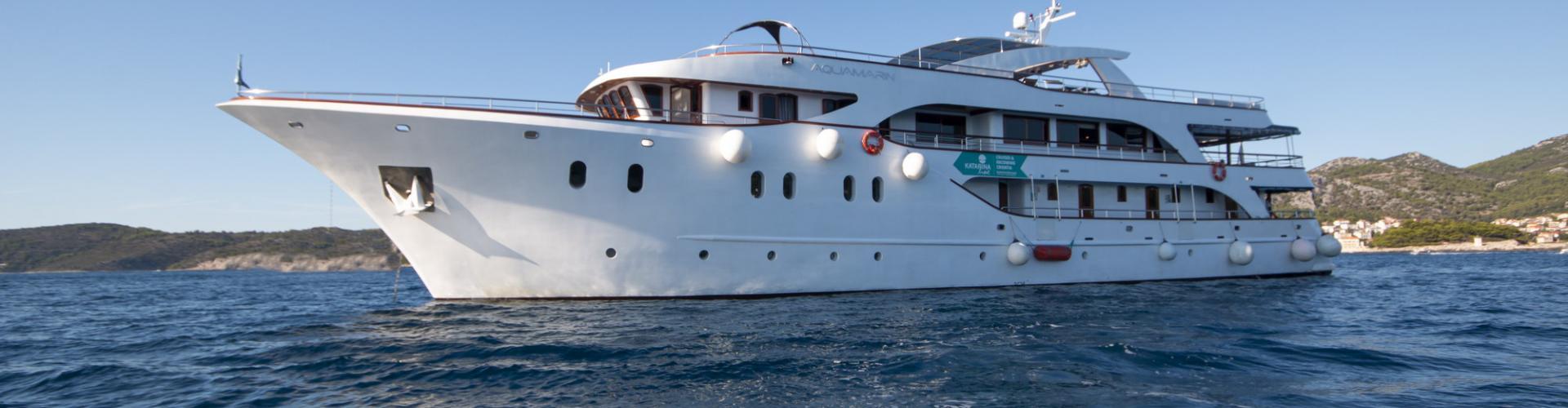 Deluxe cruiser MV Aquamarin- motor yacht