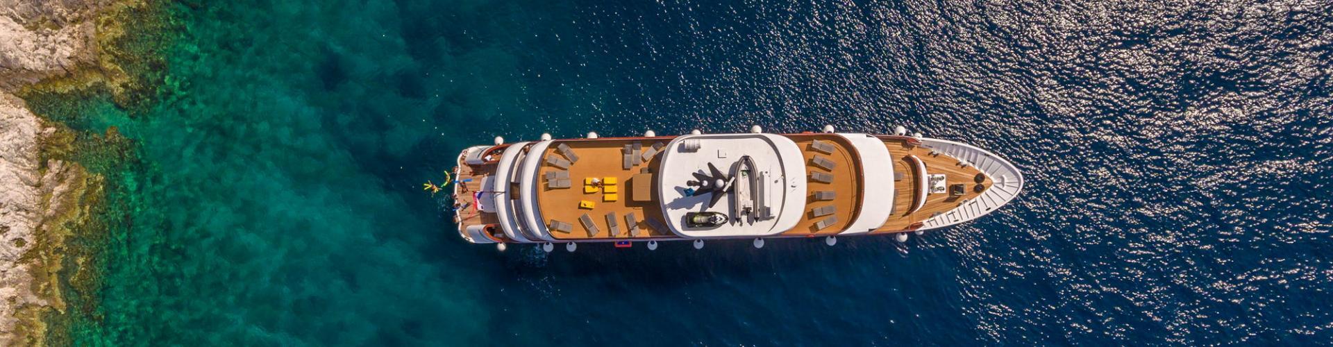 motor boat Deluxe Superior cruiser MV Black Swan