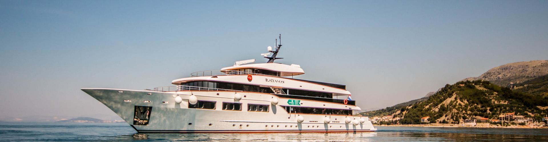 Deluxe Superior cruiser MV Black Swan- motor yacht