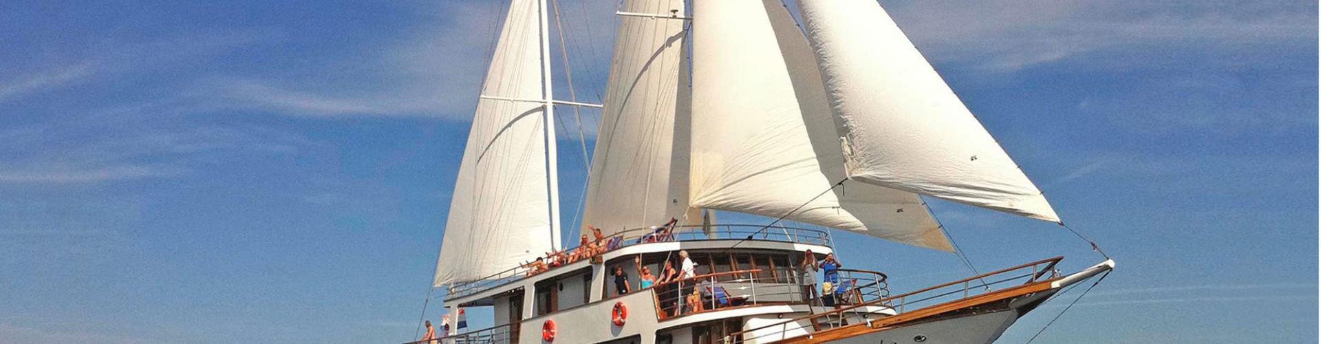 Premium cruiser MV Antonela- motor sailer