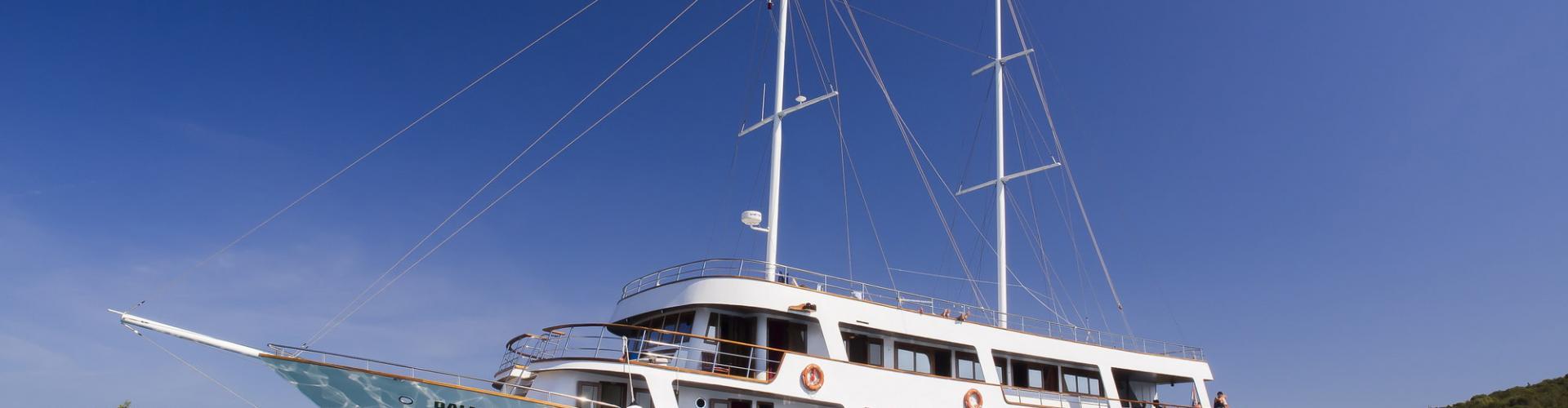 Premium cruiser MV Dalmatia- motor sailer
