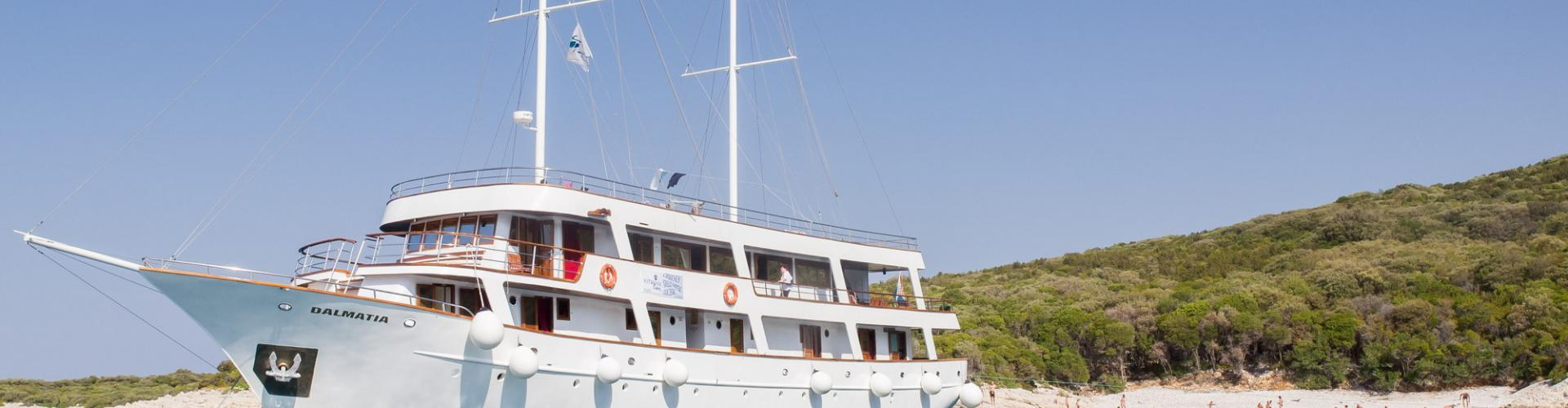 motor sailer Premium cruiser MV Dalmatia