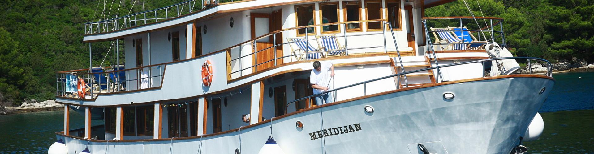 2006. Premium cruiser MV Meridijan