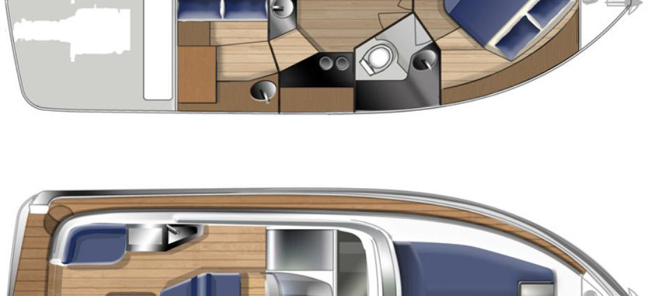 motor boat Elan 30 Power