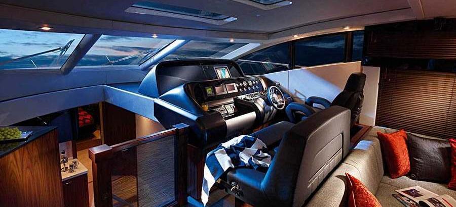 motor boat Sunseeker Predator 64