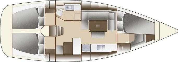 sailboat Dufour 375