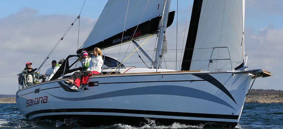 sailboat Salona 38
