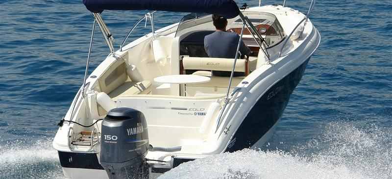 motor boat Eolo 650