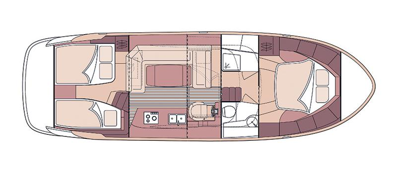 motor boat Marex 370 ACC