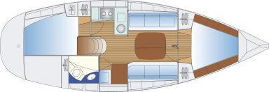 sailboat Bavaria 32