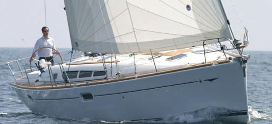 sailboat Sun Odyssey 45