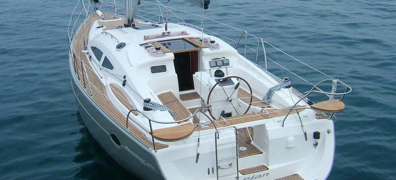 sailboat Elan 384 Impression