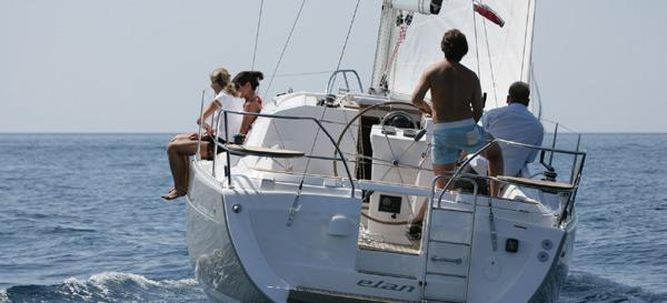 sailboat Elan 344 Impression