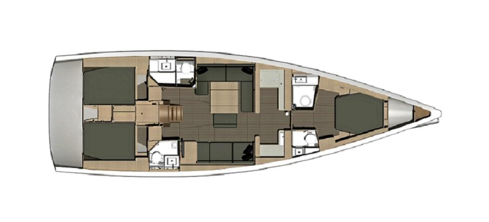 sailboat Dufour 500