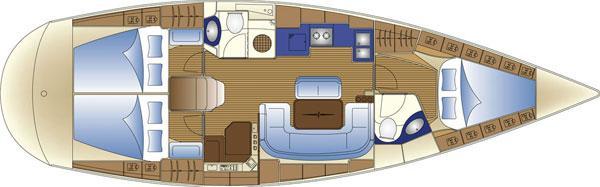 sailboat Bavaria 42 Cruiser