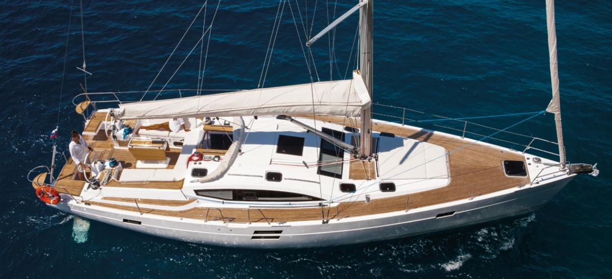 sailboat Elan 50 Impression