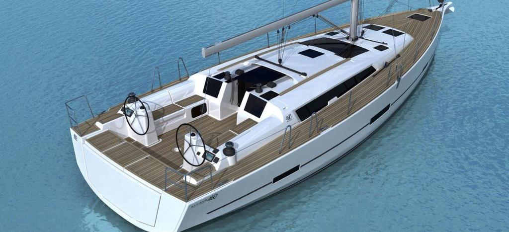 sailboat Dufour 460 GL