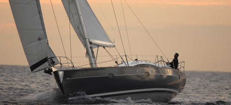 sailboat Elan 514 Impression