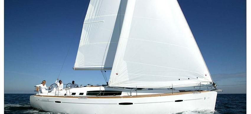 sailboat Oceanis 46