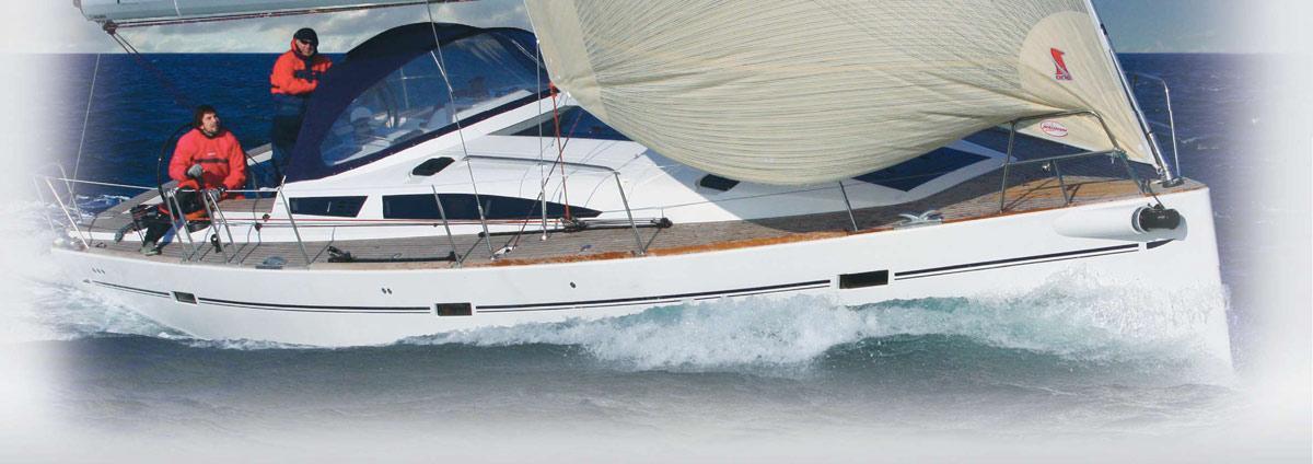 sailboat Elan 450