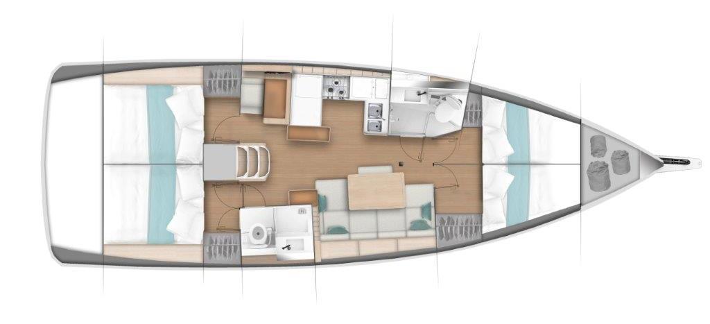 sailboat Sun Odyssey 440