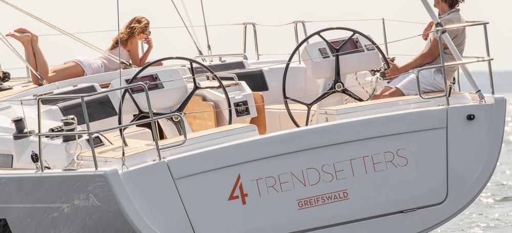 sailboat Hanse 458