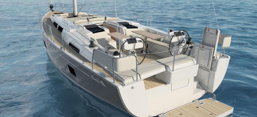 sailboat Hanse 508
