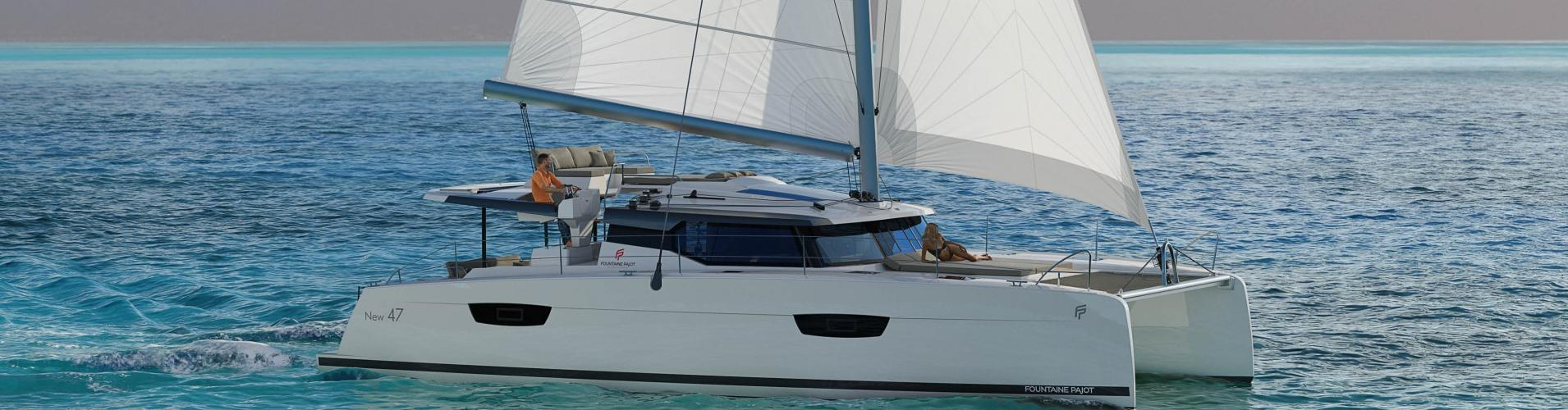 2018. Fountaine Pajot Saona 47