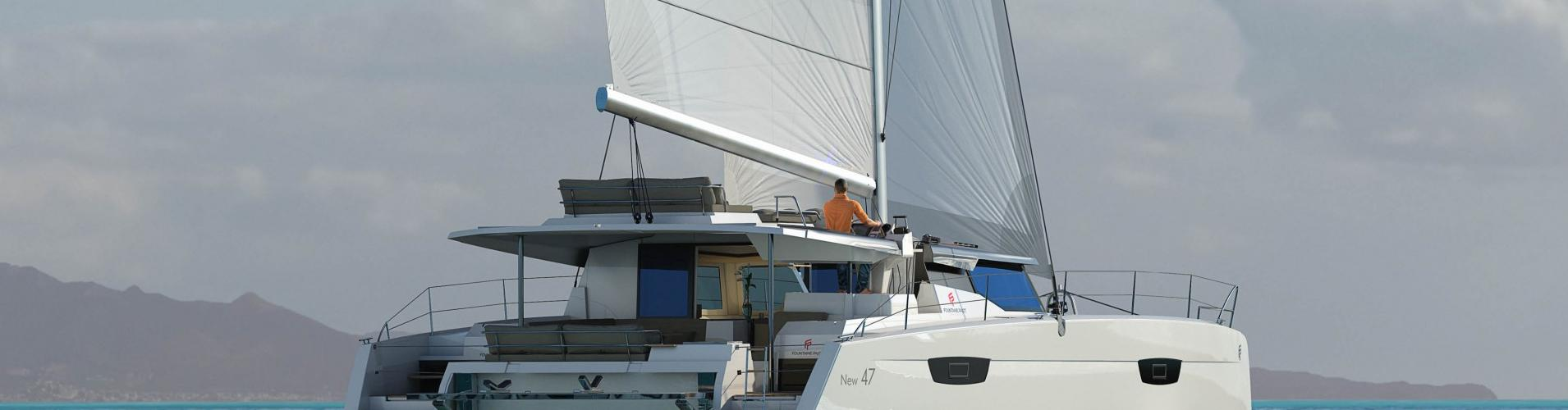 catamaran Fountaine Pajot Saona 47