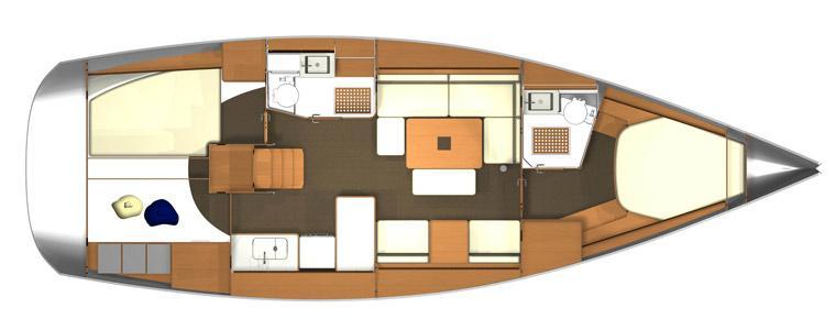 sailboat Dufour 405