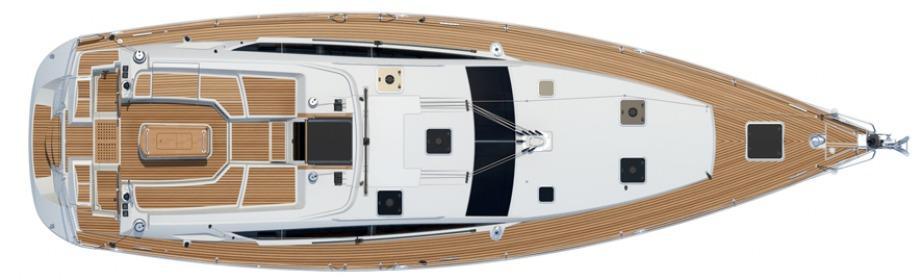 sailboat Jeanneau 53