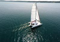 trimaran at sea neel 45