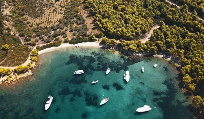 Paradise amongst the pine trees, visit the east side of Sithonia, Halkidiki