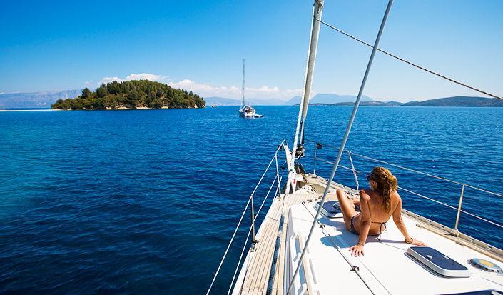 Searching for Something Real - Agia Kiriaki, Greece by Sail....