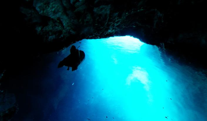 Surreal Beauty of the Blue Grotto at Biševo Island