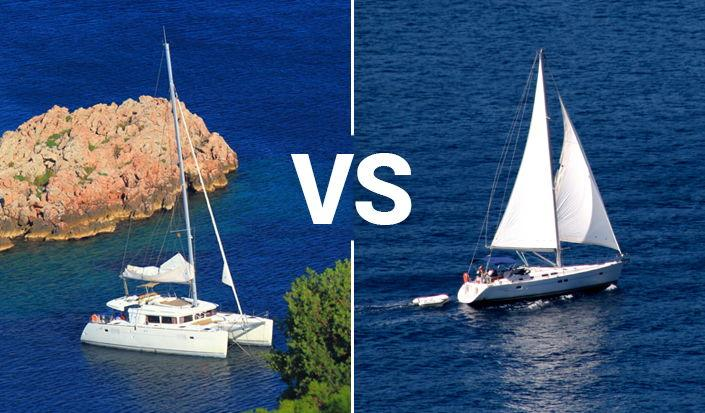 What to Charter this Summer - Monohull or Catamaran?
