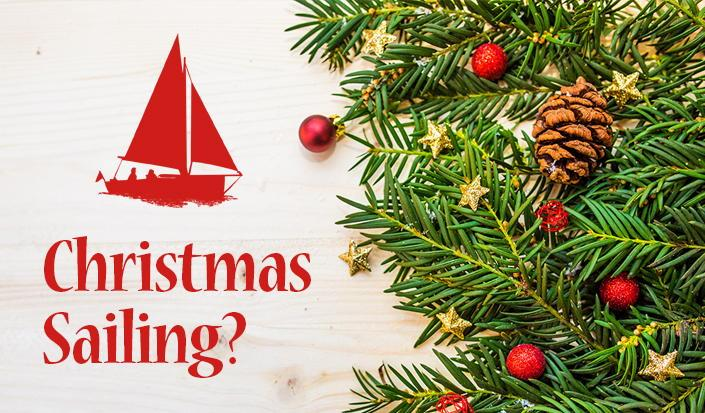 Deck the Sails with Boughs of Holly!