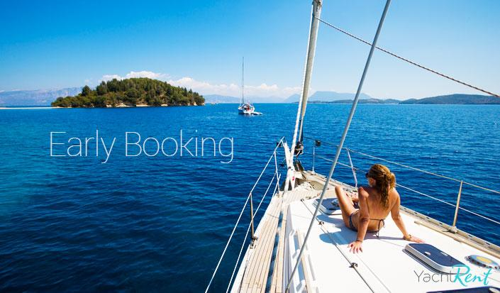 Prolonged early booking discount, take the opportunity and save money!