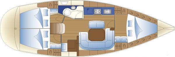sailboat Bavaria 38