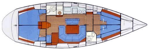 sailboat Bavaria 46