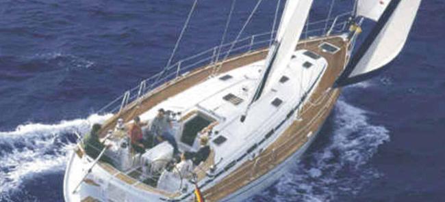 sailboat Bavaria 49