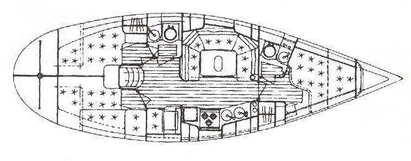 sailboat Elan 38