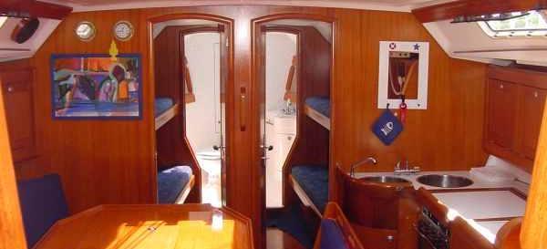 sailboat Elan 431