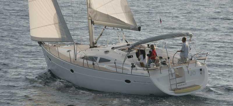 sailboat Elan 434 Impression