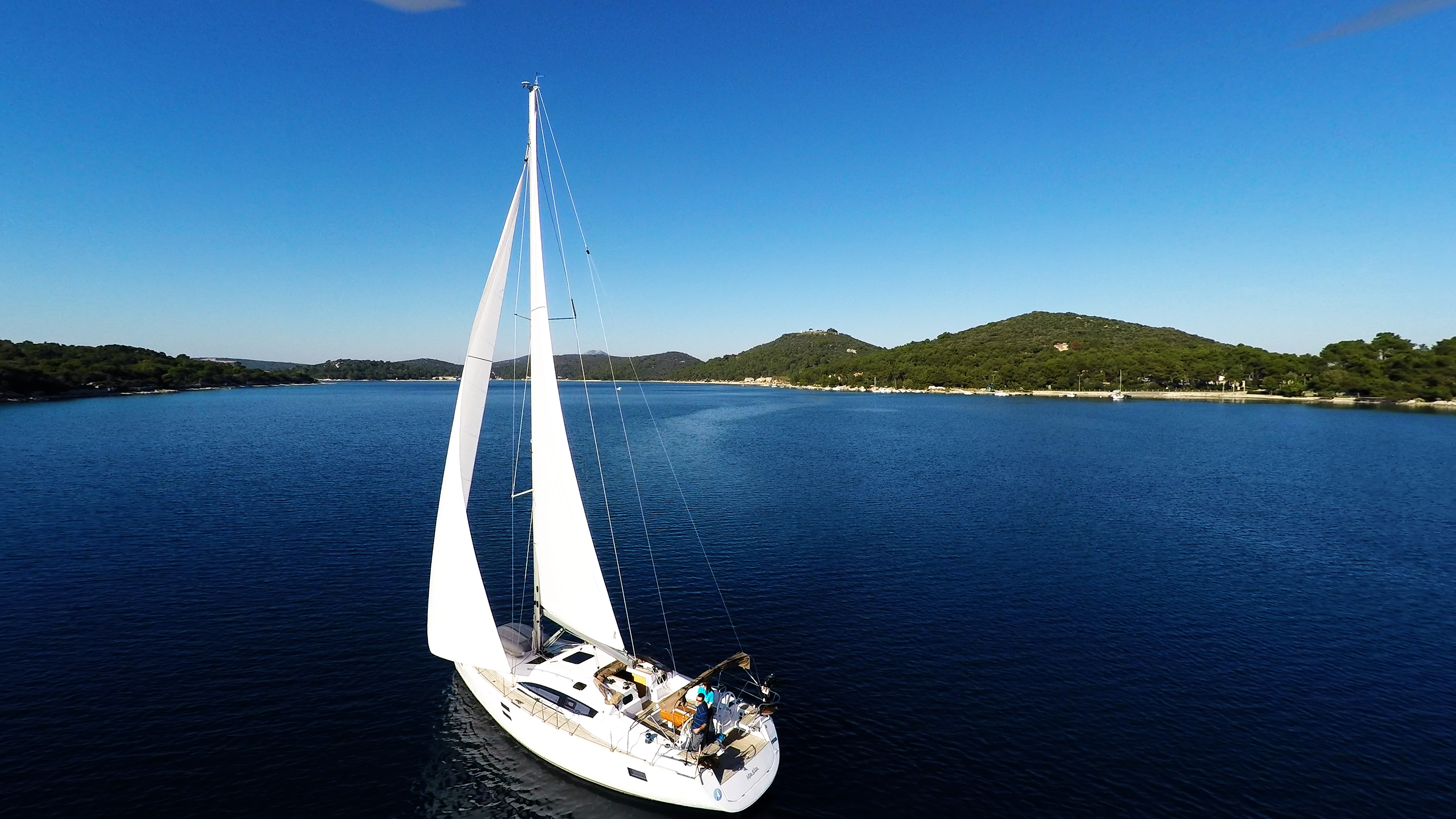 Images of sailing yacht Elan 45 in charter