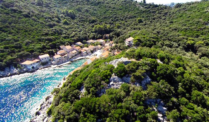 Lučica, island Lastovo, Croatia