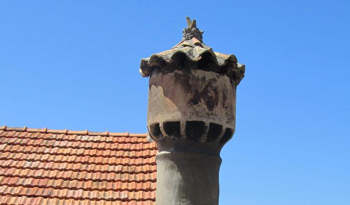 Chimney in Lastovo