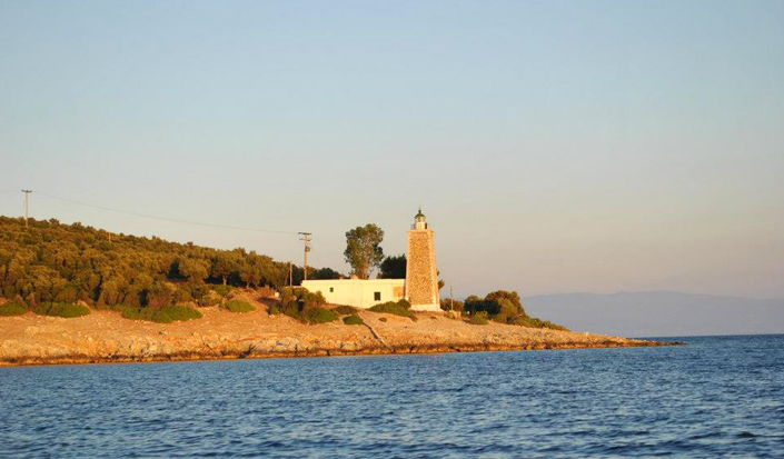 Lighthouse - Agia Kiriaki, Griechenland, Segeln